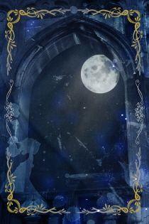 사막에 떨어진 푸른달